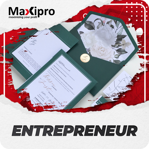 Bisnis Kartu Undangan Pernikahan Modal Mesin Hardcover - Maxipro