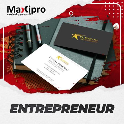 Memulai Bisnis Kartu Nama - Maxipro