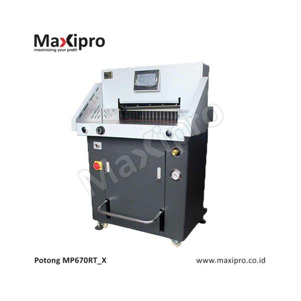 Mesin Potong Kertas otomatis Maxipro