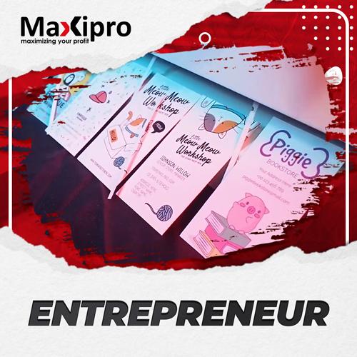 Alat Potong Kartu Nama Kecil Dan Lincah - Maxipro